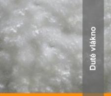 Přikrývky z dutého vlákna