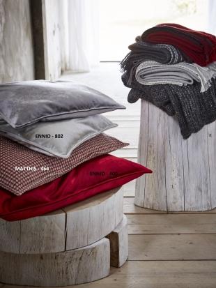 ENNIO - povlak na polštářek červený