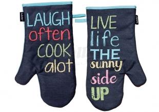 2x kuchyňská rukavice