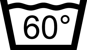 Maximální teplota praní 60 stupňů