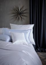 Luxusní ložní povlečení BENTE - světle šedá