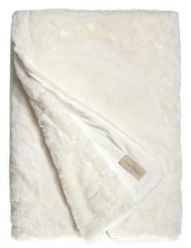 Pléd SEAL SNOW - white