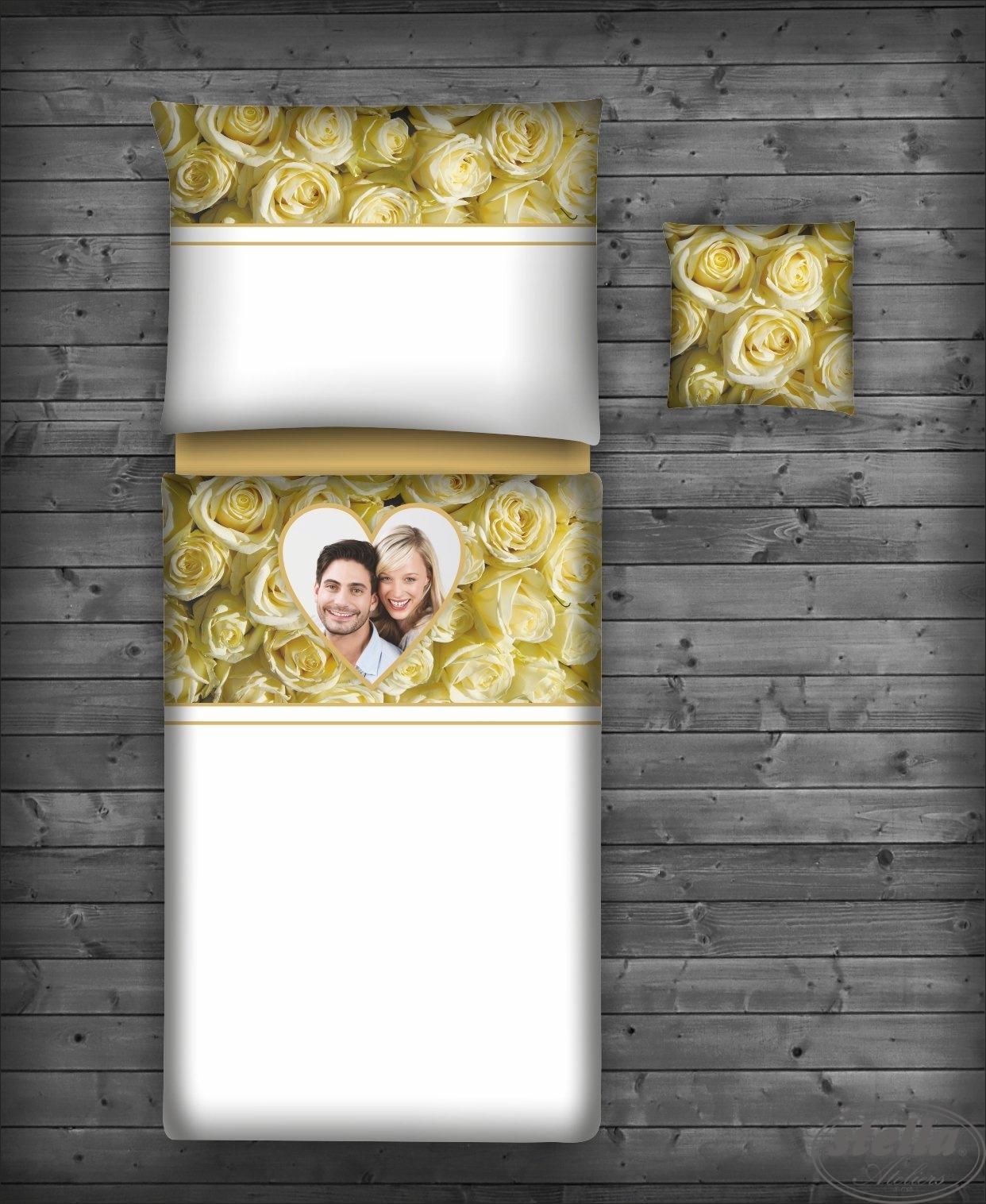 Svatební povlečení s VLASTNÍ FOTOGRAFIÍ